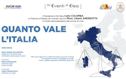20 giugno 2018 – Evento Elea – Roma – Quanto Vale L'Italia