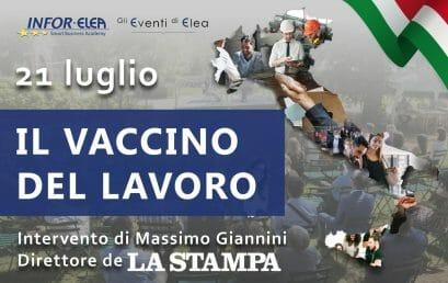 21 luglio 2021 – Evento Elea – San Secondo di Pinerolo – Il vaccino del Lavoro